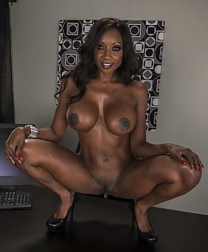 Big Black Tits Porn Photos