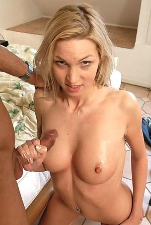 Cum on Tits Porn Photos